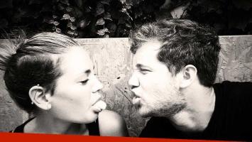 La tierna foto de Rochi Igarzábal y Nico Riera. (Foto: Twitter)