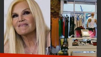 ¿Susana Giménez vende su ropa en una feria americana? (Fotos: Web).