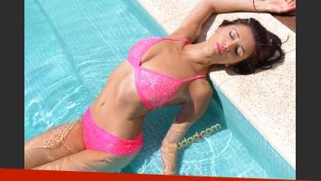 Paz Cornú y sus fotos más sensuales. (Foto: Maxi Didari - Ciudad.com)
