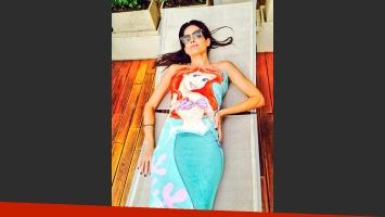 Isabel Macedo provoca en Twitter con su foto... y un sensual escote. (Foto: Twitter)