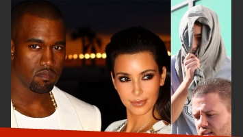 Kim Kardashian dijo que la amenazaron de muerte y Kanye West la defendió a las piñas. (Foto: Web/X17online.com)