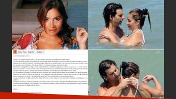 Nancy Pazos escribió una carta hablando de su relación con Ignacio Iparraguirre. (Fotos: Web, Gente y Facebook)