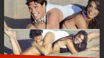 Matías Alé y Sabrina Ravelli, apasionados. (Fotos: revista Pronto)