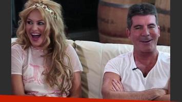 Paulina Rubio: Simon Cowell despidió a la cantante de The X Factor. (Foto: Web)
