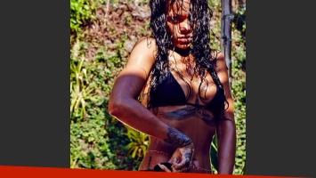 Rihanna calienta la Web con fotos súper sexies en las playas de Brasil. (Foto: Instagram Rihanna)