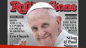 El papa Francisco ilustra la portada de la revista Rolling Stone. (Foto: Revista Rolling Stone)