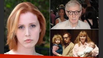 Dylan Farrow acusó a Woody Allen de haberla abusado (Fotos: Web)