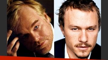 Philip Seymour Hoffman intentó convencer a Heath Ledger de dejase la heroína. (Foto: Web)