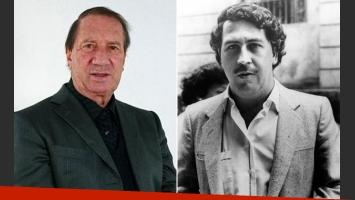 Carlos Bilardo y su encuentro con Pablo Escobar. (Fotos: Web)