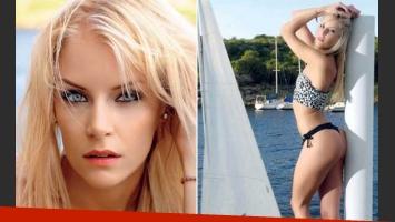 Alexandra Larsson, producción sexy y confesión: