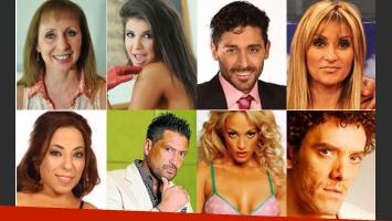 La lista del Bailando 2014: Mediáticos Vs. Talentosos.