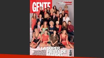 ¡Esta es, acá está! La nueva tapa de la revista Gente (Foto: Gente).