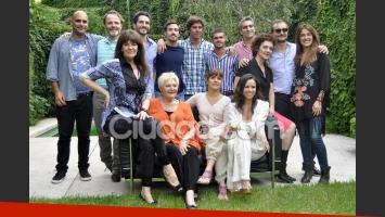 Parte del elenco del unitario La Celebración. (Foto: Jennifer Rubio - Ciudad.com)