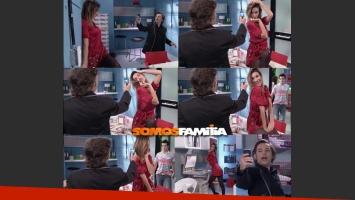 Paula Morales y Fabián Vena, romance confirmado. (Foto: Captura TV)