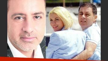 Fabián Doman se separó de Carolina Nuin. (Fotos: Web)