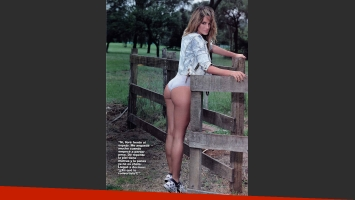 Paula Chaves, destape sexy y transparencias. (Foto: revista Gente)