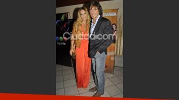Sabrina Rojas y Gustavo Bermúdez, en el festejo de Somos familia. (Foto: Jennifer Rubio - Ciudad.com).