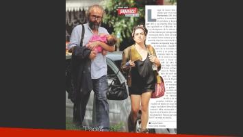 Paola Barrientos, en familia. (Foto: revista Paparazzi)