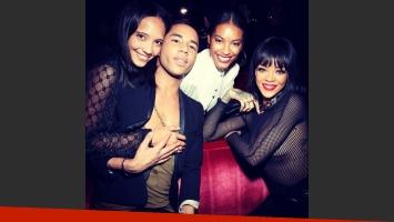 Rihanna y sus transparencias. (Foto: Instagram)