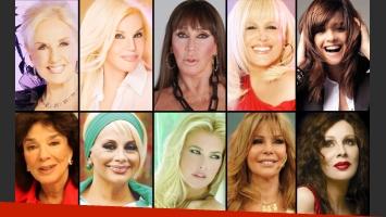 ¿Cuál es la gran mujer del espectáculo nacional? (Foto: Web)