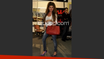 Loly Antoniale en el back del BAAM. (Foto: Jennifer Rubio-Ciudad.com)