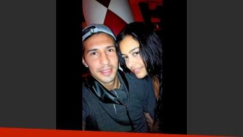 Larissa Riquelme y Jonathan Fabbro fueron violentamente asaltados. (Foto: Twitter)