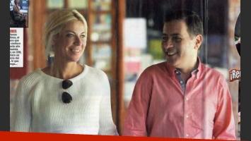 Fabián Doman y Carolina Nuin, juntos otra vez. (Foto: revista Paparazzi)
