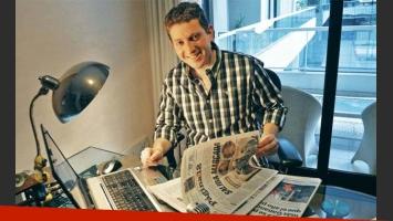 Jonatan Viale, el panelista de Intratables favorito de los lectores de Ciudad.com. (Foto: archivo Perfil.com)