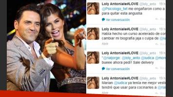 La divertida catarsis tuitera de Loly Antoniale al quedarse afuera de La cocina del show. (Fotos: Ideas del Sur y Twitter)