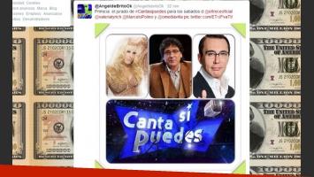 Angel de Brito contó la primicia en su cuenta de Twitter (Fotos: Captura).