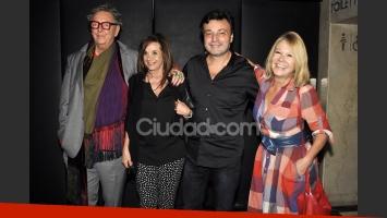 Pepito Cibrián, Ana María Picchio, Marcos Carnevale y Solita Silveyra. (Foto: Jennifer Rubio-Ciudad.com)