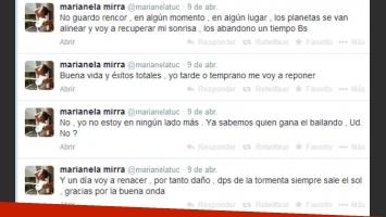 Marianela Mirra se alejó de las redes sociales tras la pelea con Rial (Foto: Captura).