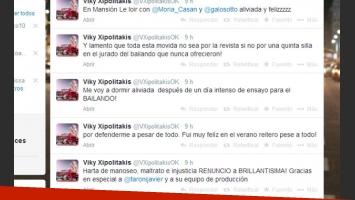 Xipolitakis anunció vía Twitter su renuncia (Foto: Captura).