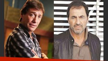 Fabián Gianola y Martín Seefeld: ¿a las piñas a la salida de un teatro? (Fotos: Web).