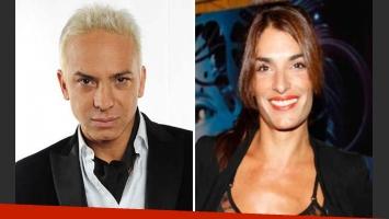 Flavio Mendoza, indignado con Romina Propato. (Foto: Web)