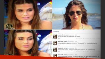 El descargo de Marianela Mirra luego de que Loly le dijera 'desubicada'.