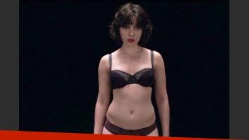 Scarlett Johansson, desnuda en su nueva película, Under the skin. (Foto: Web)