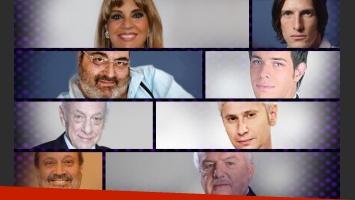¡Gran encuesta!: ¿Cuál es tu contrincante famoso favorito de Los 8 escalones? (Foto: Web/ Diseño: Ciudad.com)