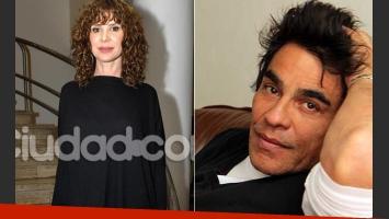 María Carámbula y Juan Palomino, romance en puerta. (Foto: Web)