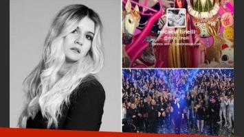 Micaela Tinelli y las críticas a ShowMatch. (Fotos: Twitter e Ideas del Sur)