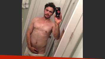 James Franco y su selfie hot que después borró. (Foto: Instagram)