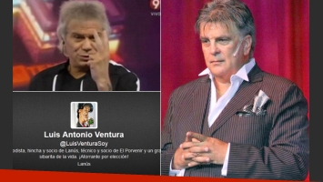 Los irónicos tweets de Luis Ventura contra Beto Casella. (Fotos: archivo Web y Twitter)