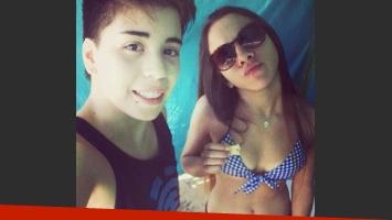 Ailén y Cumbio, la joven pareja de chicas enamoradas que prueban convivencia. (Foto: @ailenjulietac)