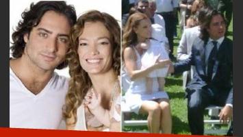 Claudia Albertario y Jerónimo Valdivia se casaron tras 6 años de idas y vueltas.