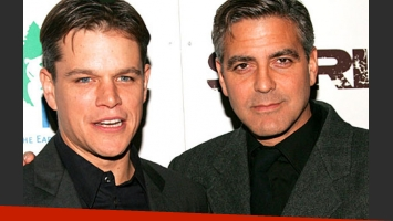 George Clooney eligió a Matt Damon como el padrino de su boda con Amal Alamuddin. (Foto: Web)