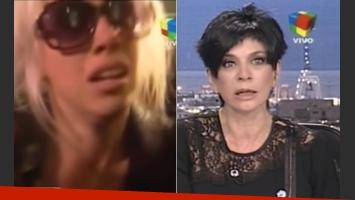 Wanda Nara le respondió a Mónica Gutiérrez. (Captura)