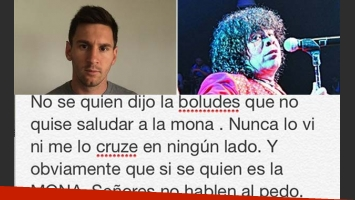 Lionel Messi contra Carlos