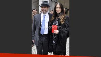 El casamiento por civil de Victoria Vannucci y Matías Garfunkel. (Foto: Jennifer Rubio-Ciudad.com)