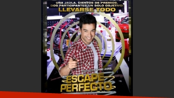 El Chino Leunis debuta con Escape perfecto. (Foto: Twitter @LeandroLeunis)