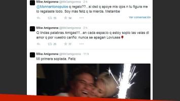 Cumpleaños Amigorena (Fotos: Twitter)